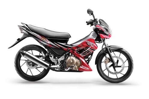 Suzuki-Satria-FU-150-Dari-Samping