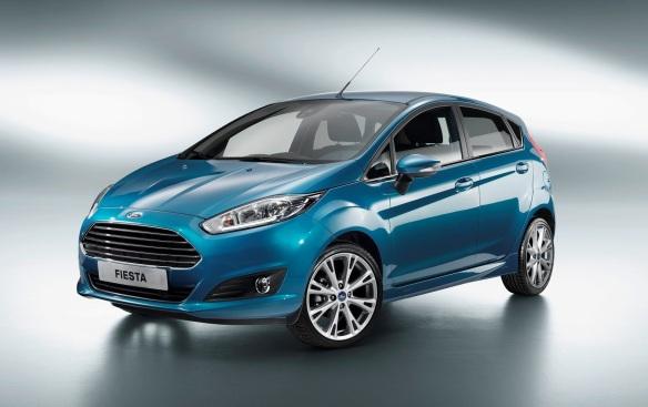 Paris Motor Show - New Ford Fiesta